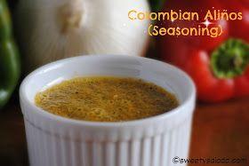 Sweet y Salado: Colombian Aliños (Seasoning)