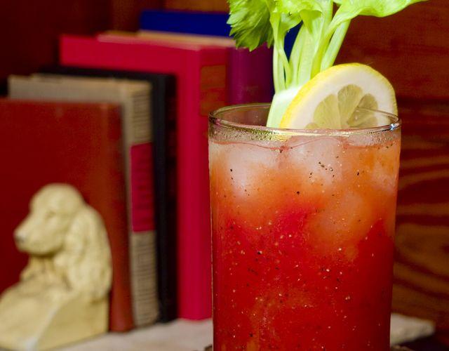 Forty Creek Caesar, whiskey drink