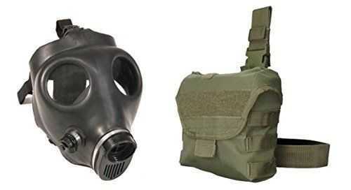 Israeli Gas Mask Drop Leg Pouch