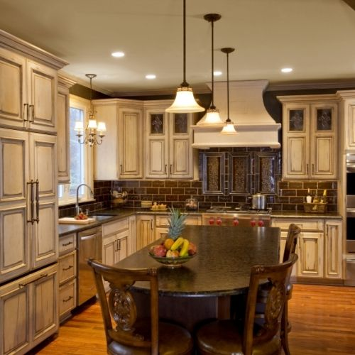 Antique Kitchen Cabinets Cream Kitchen Cabinets Wood Cabinetry Kitchen