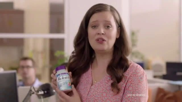 Rolaids Heartburn Blues: Office Ad Commercial on TV 2018