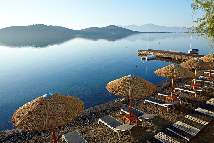Elounda Blu Hotel - Pool Area http://www.elounda.com/en/hotels/europe-greece-crete-lassithi-elounda/eloundabluebayhotel.html