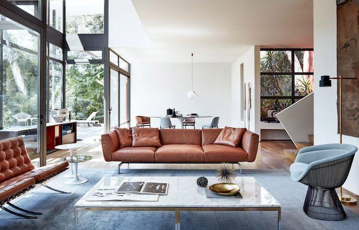1001 Ideen Zum Thema Welche Farben Passen Zusammen Braunes Sofa Wohnen Innenarchitektur