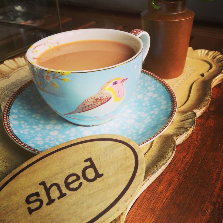Tea in the shed