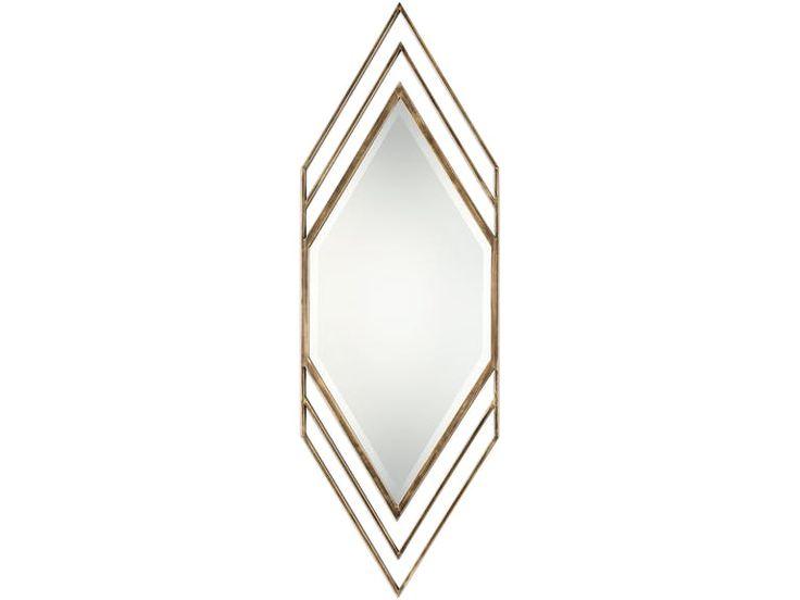 Uttermost Javon Chevron Mirror 09305