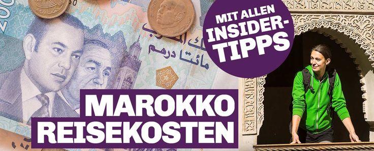 Marokko Reisekosten