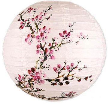 Exploding Blossoms Lantern - asian - pendant lighting - by Oriental Decor