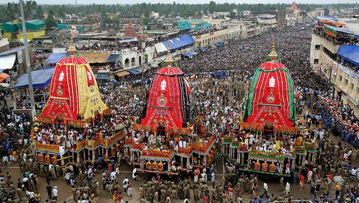 Jagannath Puri Ratha Yatra (Chariot Festival)