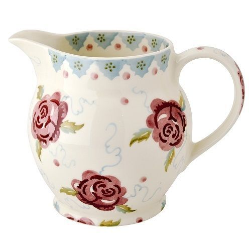 EMMA-BRIDGEWATER-POTTERY-NEW-ONE-AND-A-HALF-PINT-JUG-ROSE-AND-BEE