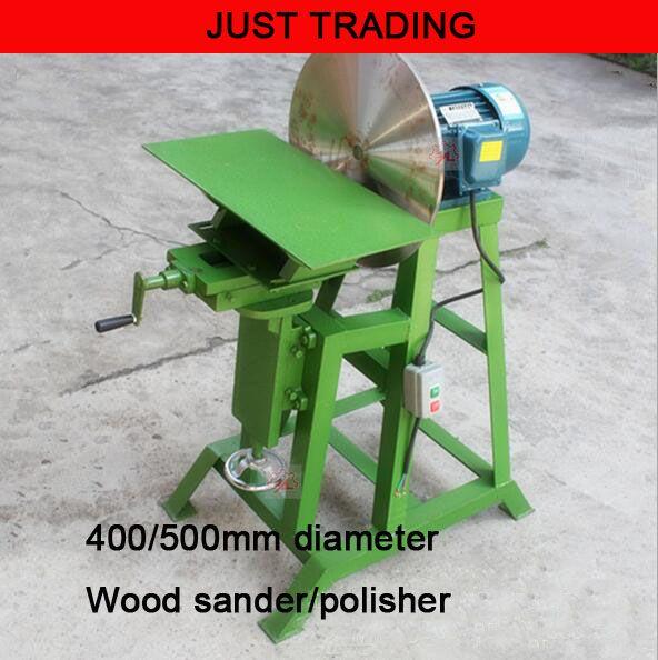400/500mm vertical type disc wood sander,wood polishing machine,wood grinder,disc grinding machine