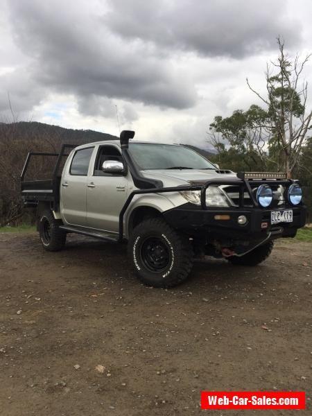 TOYOTA HILUX SR5 2007 4X4 4WD TURBO DIESEL AUTOMATIC  #toyota #hilux #forsale #australia
