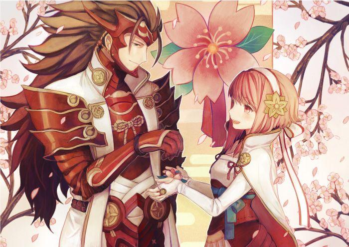 Fire Emblem: Fates/If- Ryoma and Sakura