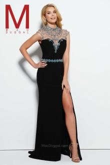Feel enchanting with the Spring 2016 Prom Dress Collections.   Black Prom Dress Style 10093m