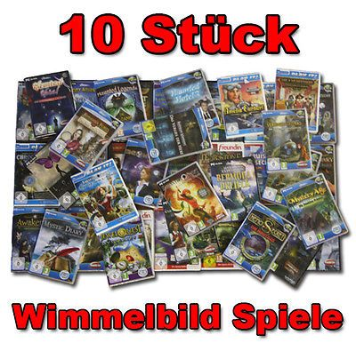 sparen25.de10 Teiliges Wimmelbild PC Spiele Sammlung MEGAPAKET |NEUWARE| 10 x VOLLVERSIONENsparen25.info , sparen25.com