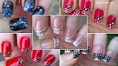 Ombre FRENCH MANICURE Design - Pure Sponge Nail Art Tutorial - YouTube