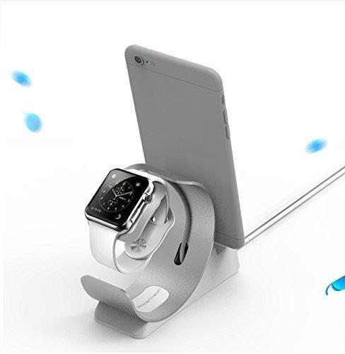 Oferta: 16.99€ Dto: -15%. Comprar Ofertas de Phone Stand, Watch Stand , Charging Stand,Desktop Smart Charging Station for iPhone , 38mm/ 42mm Apple Watch barato. ¡Mira las ofertas!