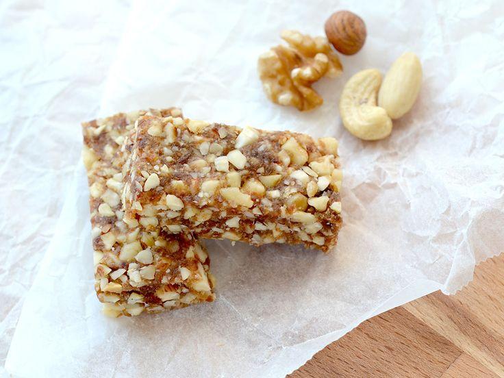 Suikervrije notenrepen met maar twee ingrediënten - My Simply Special