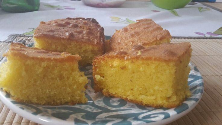 Mantecada de maiz. La Ventana Crepes y café en Malaga
