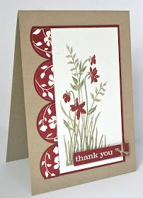 Shelley's Stamping Ground: Clean & Simple Sketch 109
