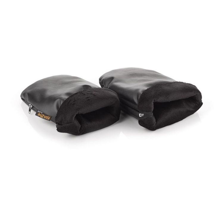 Jane Pushchair Handlebar Mitts-Black Leatherette Suitable for all handlebars!! Whether open or closed, umbrella or pram handle types.. Features: Protect hands from the cold when using the pushchair. Warm and practical with very soft, snug interior.  http://www.MightGet.com/march-2017-1/jane-pushchair-handlebar-mitts-black-leatherette.asp
