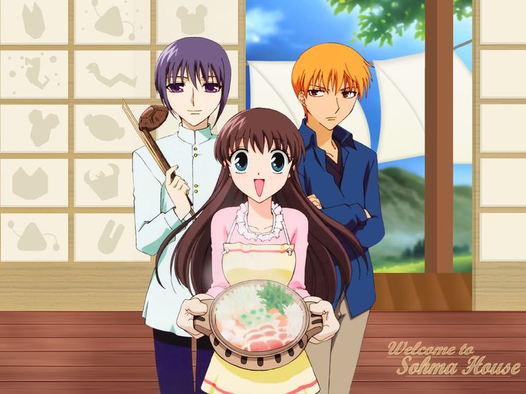 fruit baskets anime | Crunchyroll - Fruits Basket 123 - Group Info