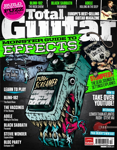 Total Guitar UK – 232 Issue Cover