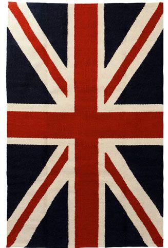 Jonathan Adler Union Jack Flag Rug