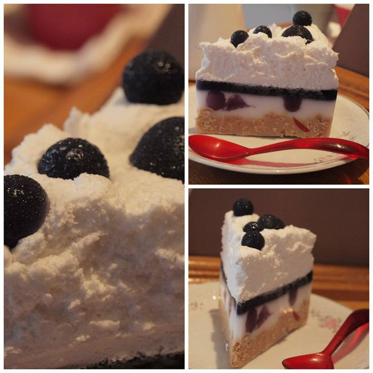 Sweet Soap by AST PRODUCTS Cake soap-blueberry cheese cake!!!!...but this is a soap!!! www.astproducts.gr