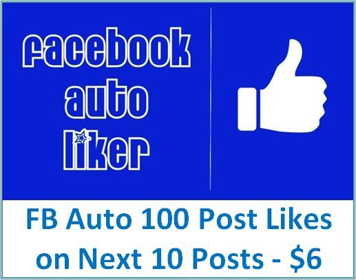 If you are trying to increase engagements on Facebook, try this service. Please see below our FB Auto Liker service package and price.  #FacebookMarketing #SocialMediaMarketing