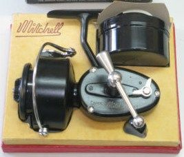Vintage mitchell garcia 300 fishing reel w/box &