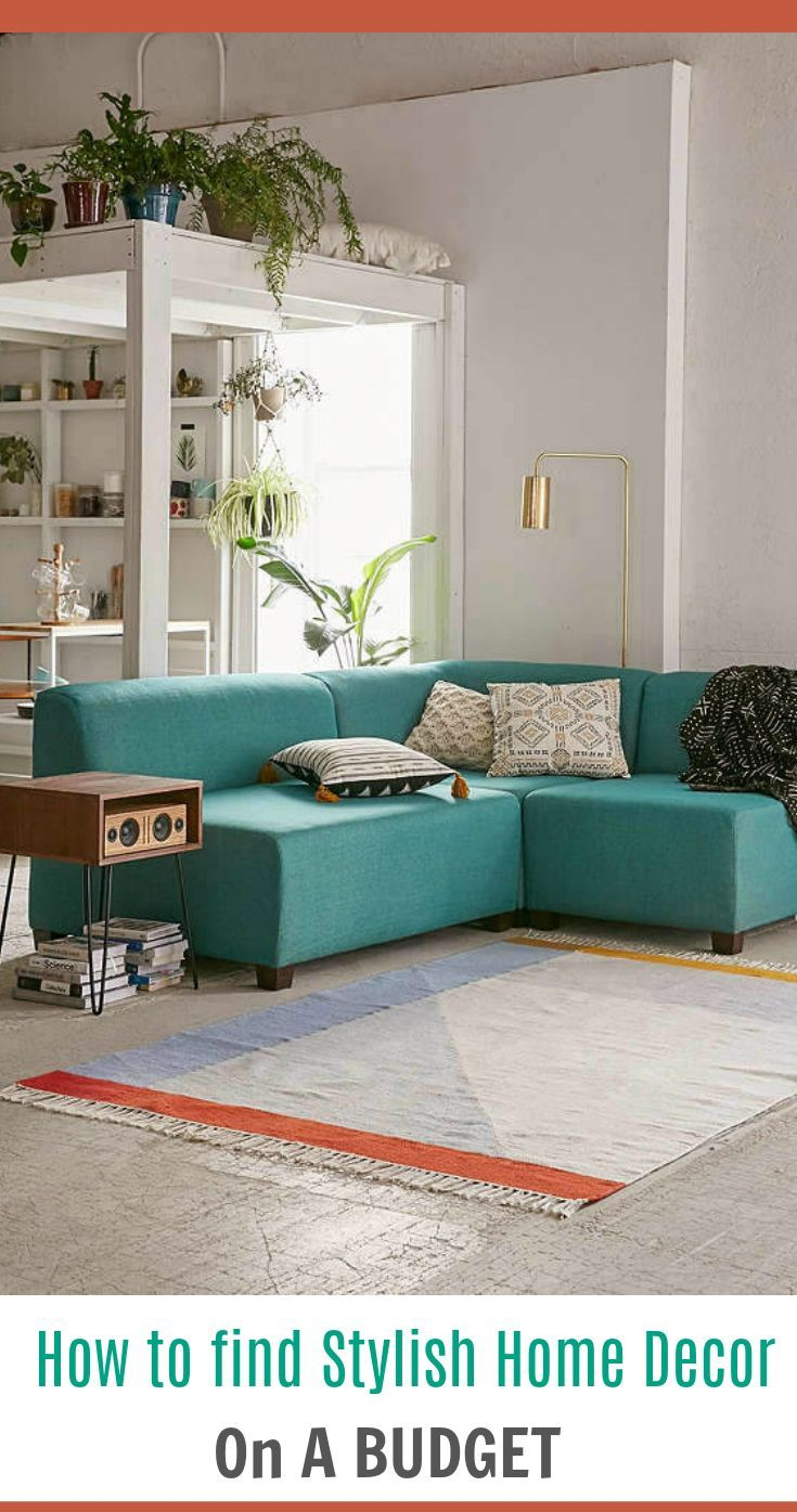 Love This Gorgeous Turquoise Sectional Sofa Looks So Crisp And