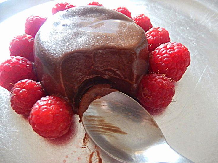 Les Delices d' Eleni: Fasting chocolate PannaCotta/ Νηστίσιμη σοκολατένι...