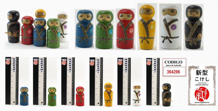Kpkeshi Ninjas (colección)
