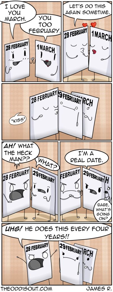 The Odd 1's Out! » Happy Leap Day!