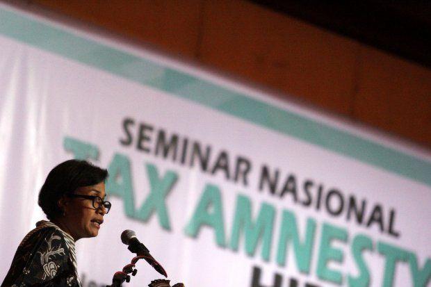 Sri Mulyani Wary of Possible Negative Effect of Tax Amnesty on Economy