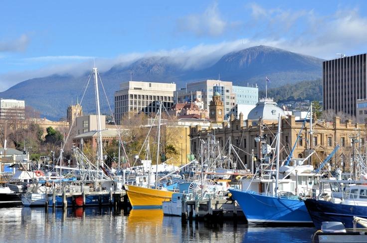 Constitution Dock, Hobart,Tasmania, Australia