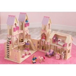 Kidkraft kasteel poppenhuis. Mooi kasteel voor de koning en koningin.