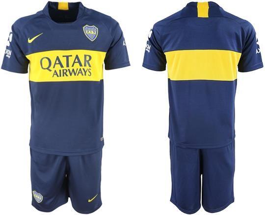 huge discount fa947 a434f Boca Juniors Football team Nike Home Trainig Kit 2018-19 ...