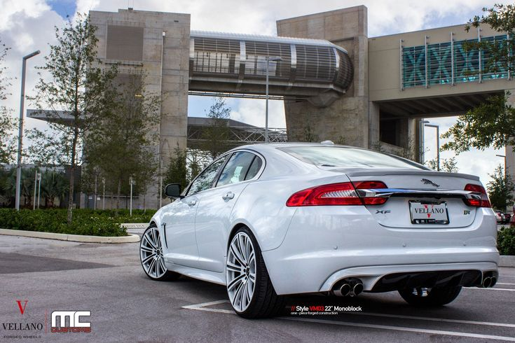 Mc Customs Does Its Magic Touches On White Jaguar Xf Jaguar Xf Jaguar Jaguar Car