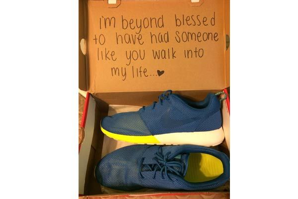 10 Best Surprise Gifts For Husband Birthday That Will Make Him Speechless - Birthday Shoes With Hidden Message  : Click to read more