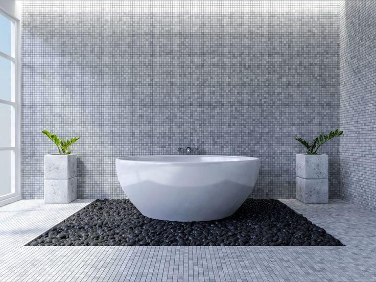 Bei der Gestaltung eines minimalistischen Badezimmers zu berücksichtigende Ideen #waschbecken #holzfliesen #vanity #badgestaltung