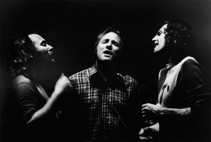 Crosby, Stills & Nash - three troubadours who had their breakthrough at the original Woodstock. They brought close harmony and wonderful acoustic compositions to a higher level. They inspired me with their wonderful close harmony singing.
