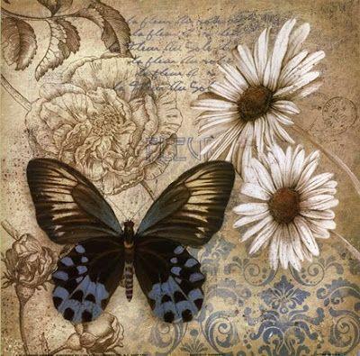 my craft notebook : Romantik dekupajlar