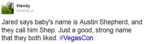 Austin Shepherd Padalecki #VegasCon2014