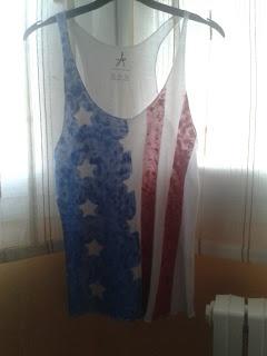 Petite Denis: DIY Camiseta bandera Estados Unidos