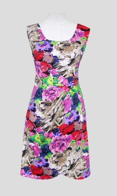 Barney Dress in Jewel