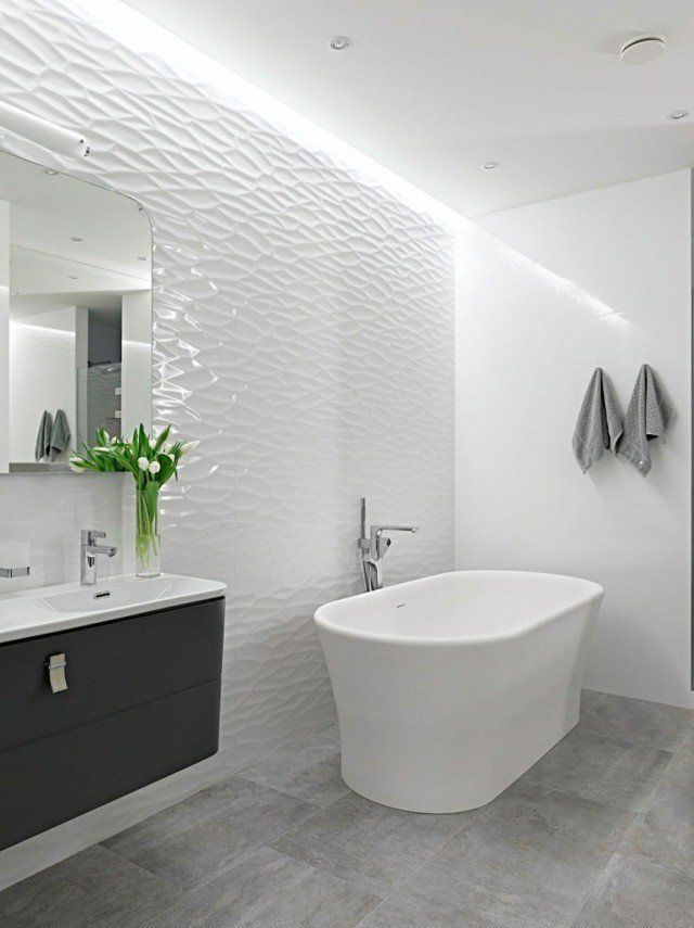 264 best Salle de bain images on Pinterest | Live, Cement tiles ...