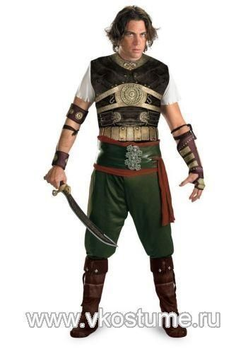 Новогодний костюм принц персии