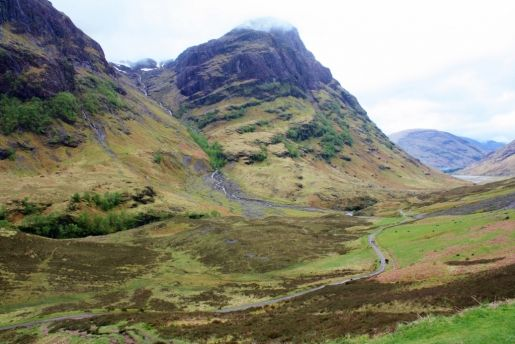 Highlands and low valleys in the Isle of Skye, Scotland, by Yvonne Gordon for Greentraveller.co.uk
