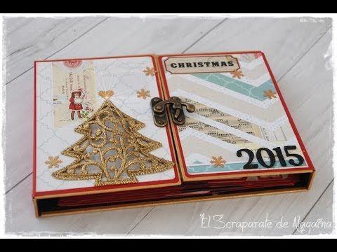 Os dejo un paso a paso de como realicé el Diario de Navidad 2015 En este vídeo https://www.youtube.com/watch?v=9KmB8JFLfTM os lo enseño completo Me podéis en...
